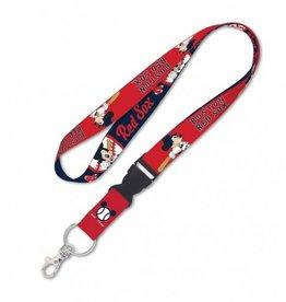 Boston Red Sox Disney Mickey Mouse Lanyard
