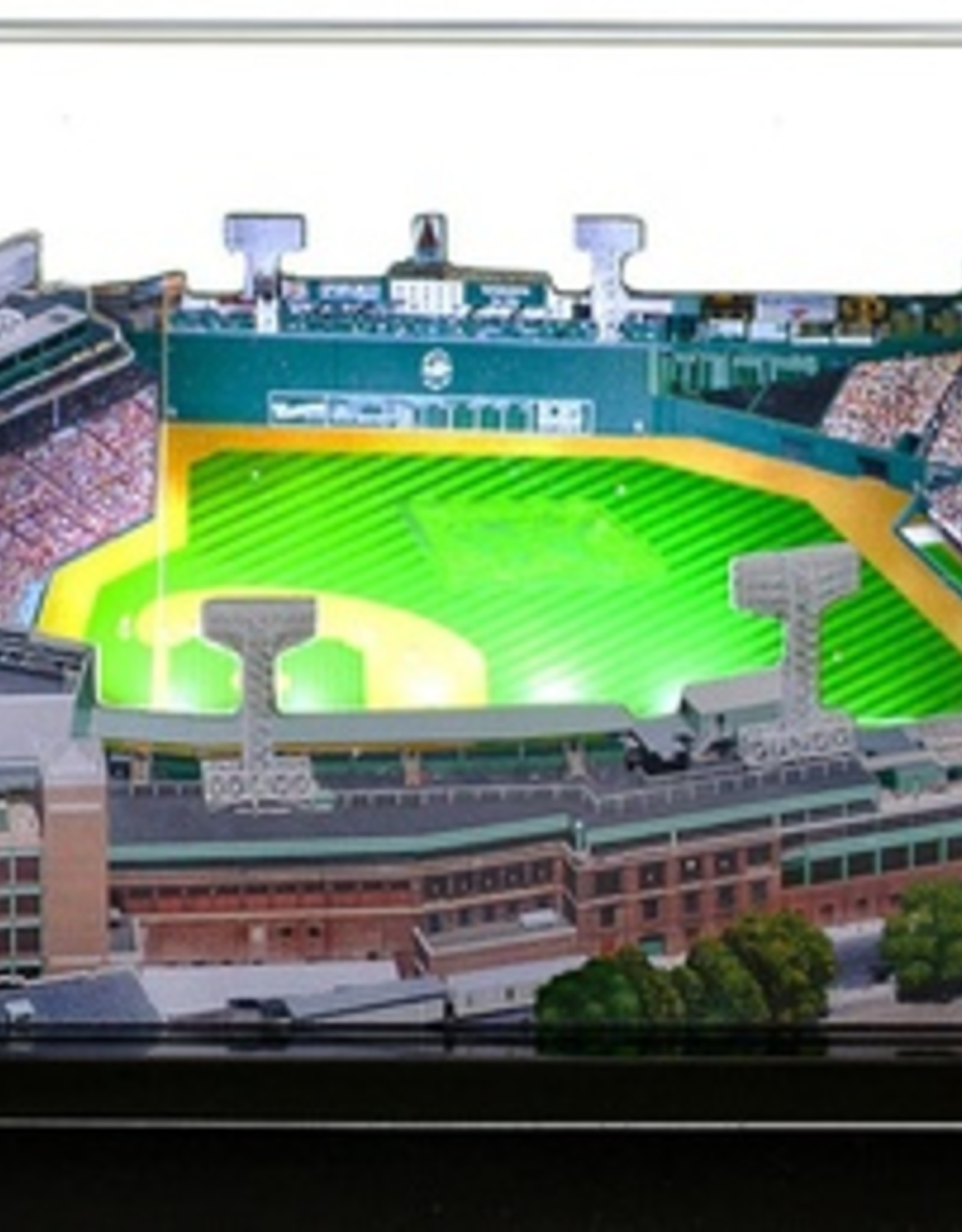 HOMEFIELDS Boston Red Sox 13IN Lighted Replica Fenway Park