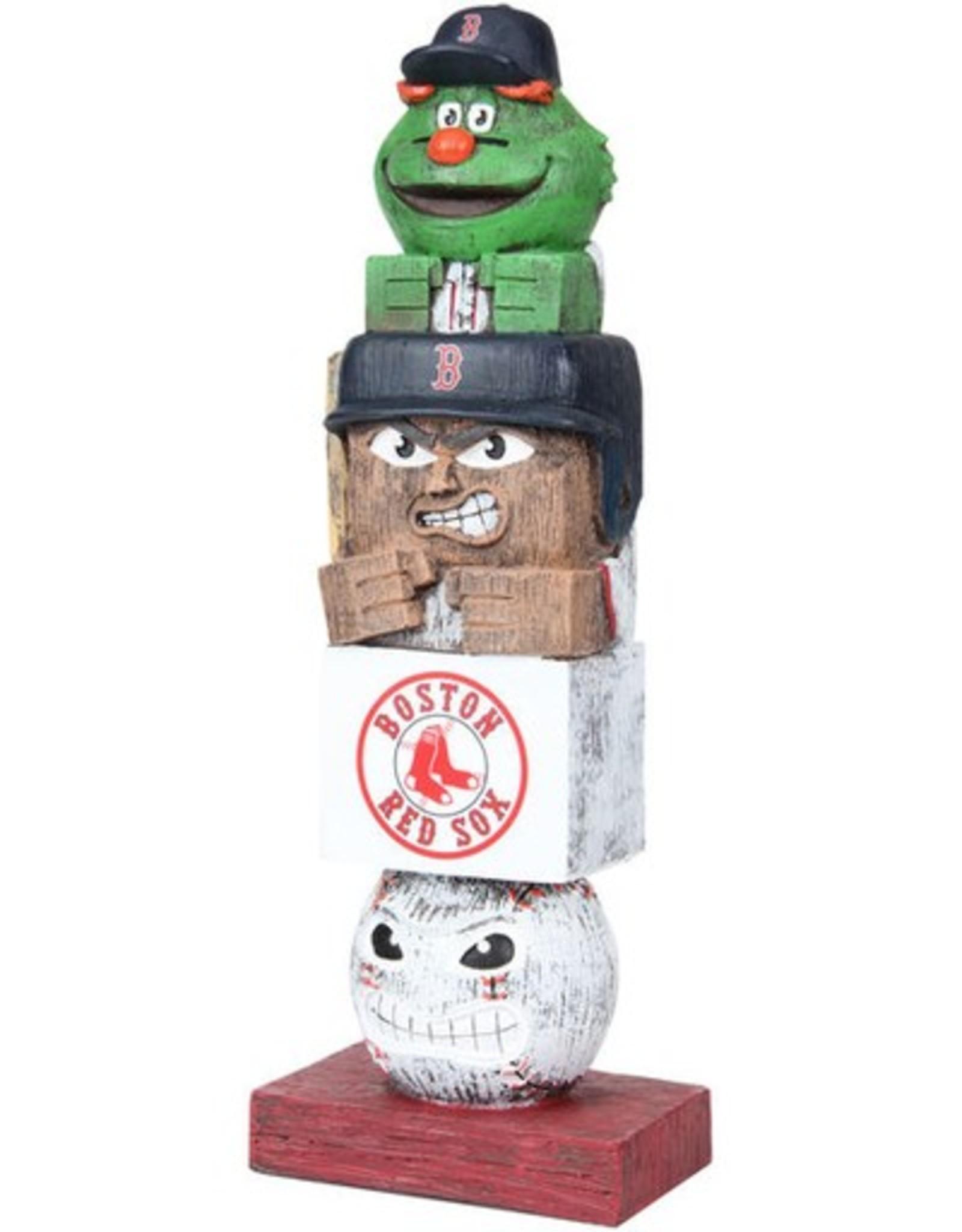 EVERGREEN Boston Red Sox Tiki Totem
