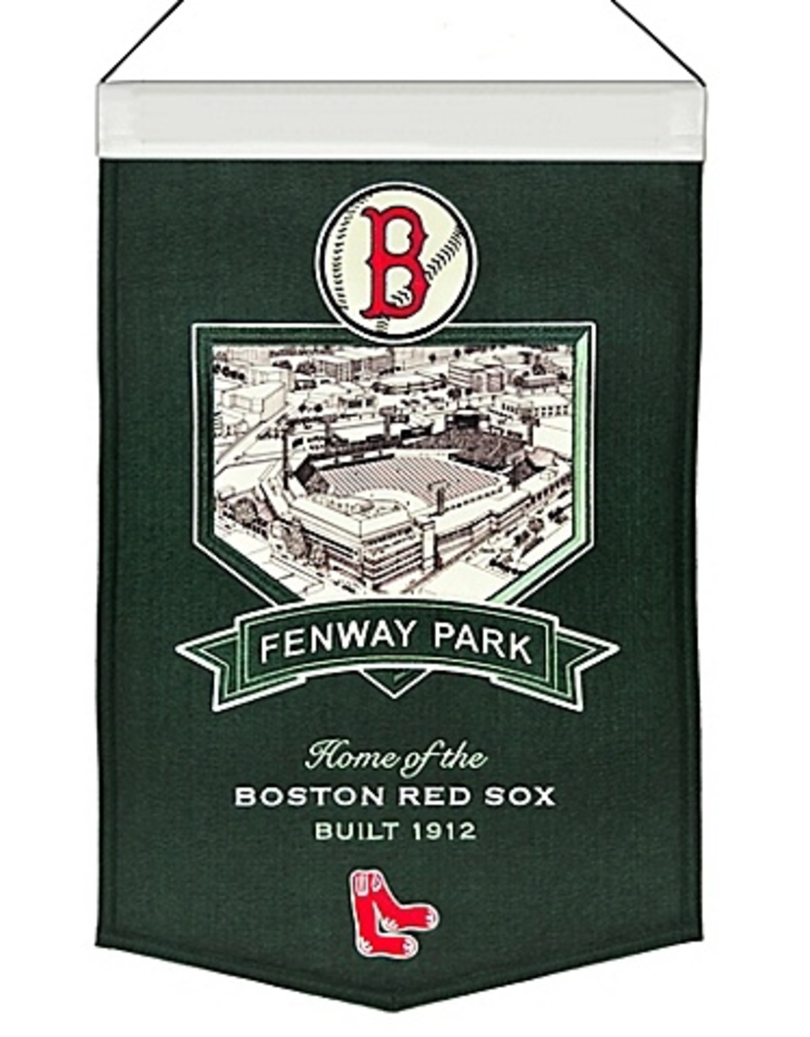 Boston Red Sox Fenway Park Stadium Banner