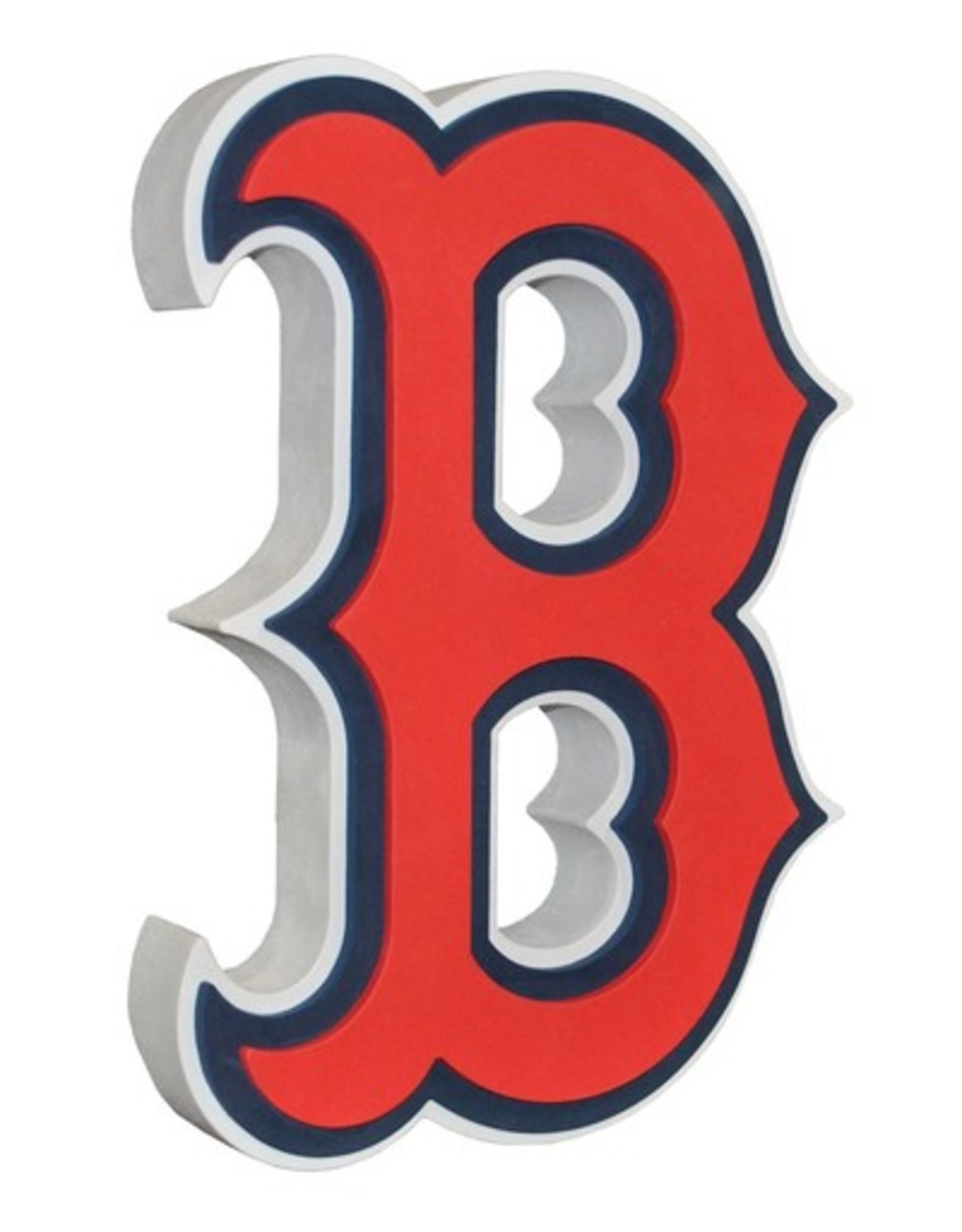 Boston Red Sox 3D Foam Logo Sign - B Logo