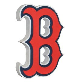 Boston Red Sox 3D Foam Logo Sign - B Logo