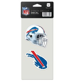 Buffalo Bills Set of Two 4x4 Perfect Cut Decals
