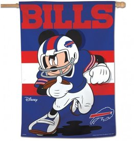 "WINCRAFT Buffalo Bills Disney Mickey Mouse 28"" x 40"" House Flag"