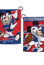 "WINCRAFT Buffalo Bills Disney Mickey Mouse 12.5"" x 18"" Garden Flag"