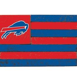 RUSTIC MARLIN Buffalo Bills Rustic Team Flag