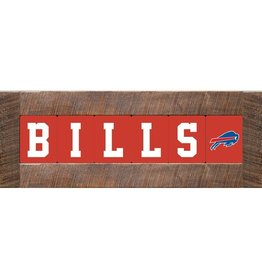 RUSTIC MARLIN Buffalo Bills Marlin Classic Wood Sign