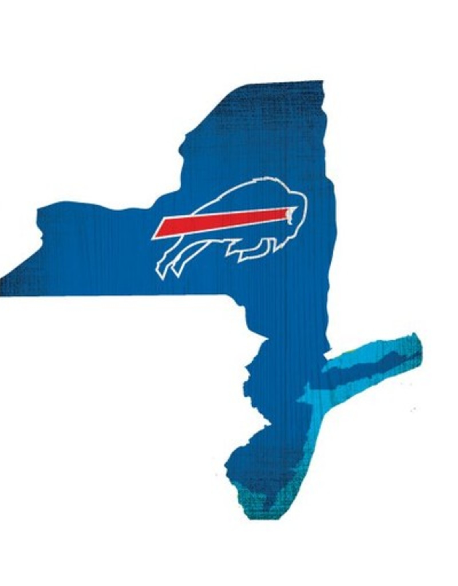 FAN CREATIONS Buffalo Bills Team Logo State Sign