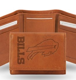 RICO INDUSTRIES Buffalo Bills Genuine Leather Vintage Trifold Wallet