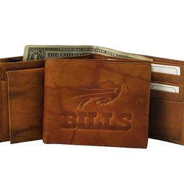 RICO INDUSTRIES Buffalo Bills Genuine Leather Vintage Billfold Wallet