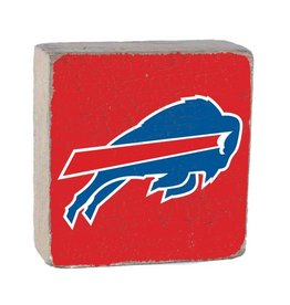 RUSTIC MARLIN Buffalo Bills Rustic Wood Team Block