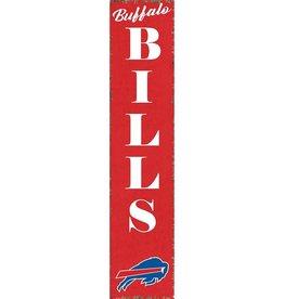 RUSTIC MARLIN Buffalo Bills Vertical Rustic Sign