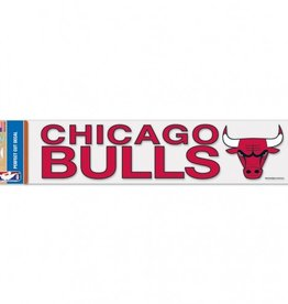 "WINCRAFT Chicago Bulls 4""x17"" Perfect Cut Decals"
