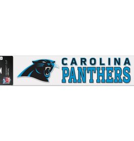 "WINCRAFT Carolina Panthers 4""x17"" Perfect Cut Decals"
