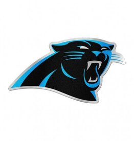 Carolina Panthers Laser Cut Auto Badge Decal