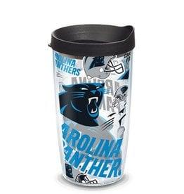 Carolina Panthers 16oz Tervis All Over Print Tumbler