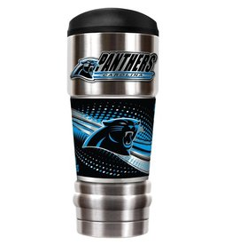 GREAT AMERICAN PRODUCTS Carolina Panthers 18oz The MVP Stainless Tumbler