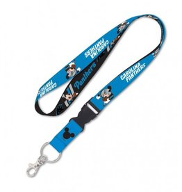 Carolina Panthers Disney Mickey Mouse Lanyard
