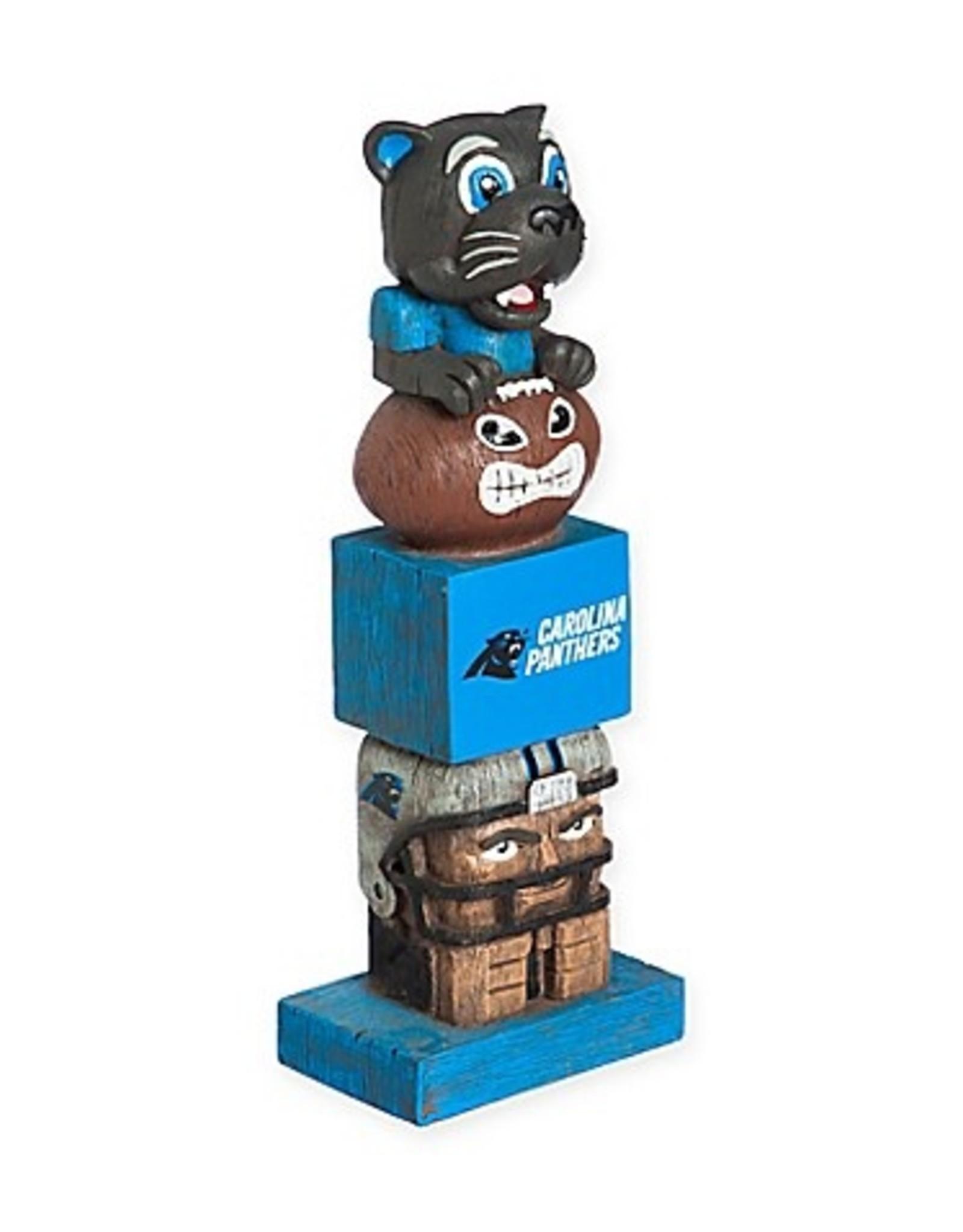 EVERGREEN Carolina Panthers Tiki Totem