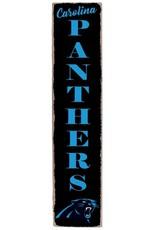 RUSTIC MARLIN Carolina Panthers Vertical Rustic Sign