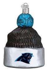 OLD WORLD CHRISTMAS Carolina Panthers Beanie Ornament