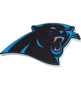 Carolina Panthers 3D Foam Logo Sign