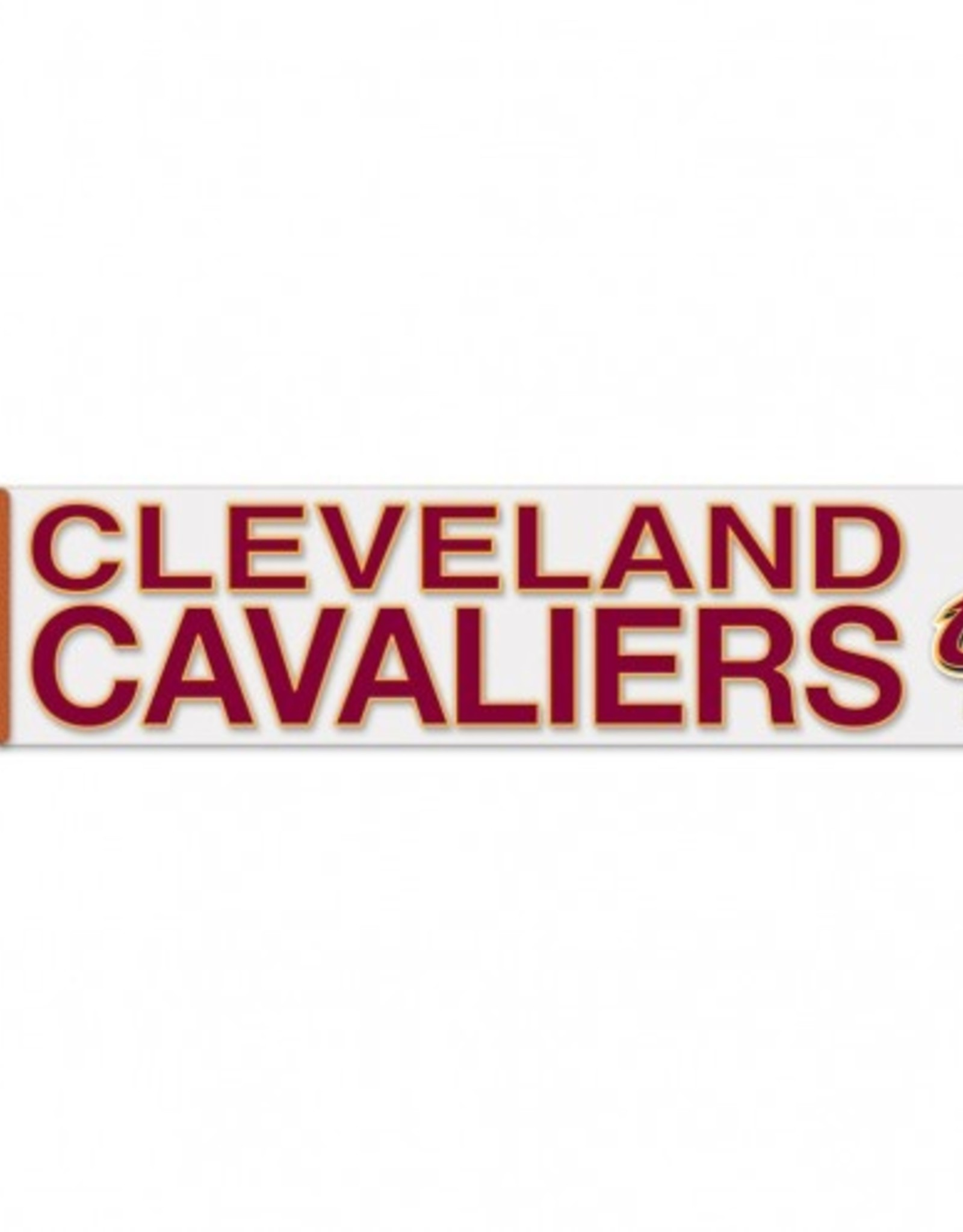 "WINCRAFT Cleveland Cavaliers 4""x17"" Perfect Cut Decals"