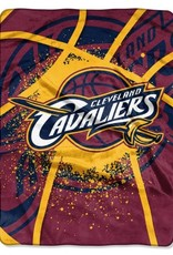 Cleveland Cavaliers 60inx80in Shadow Play Royal Plush Raschel Throw