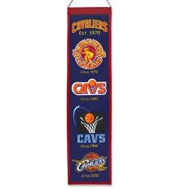 WINNING STREAK SPORTS Cleveland Cavaliers Heritage Banner
