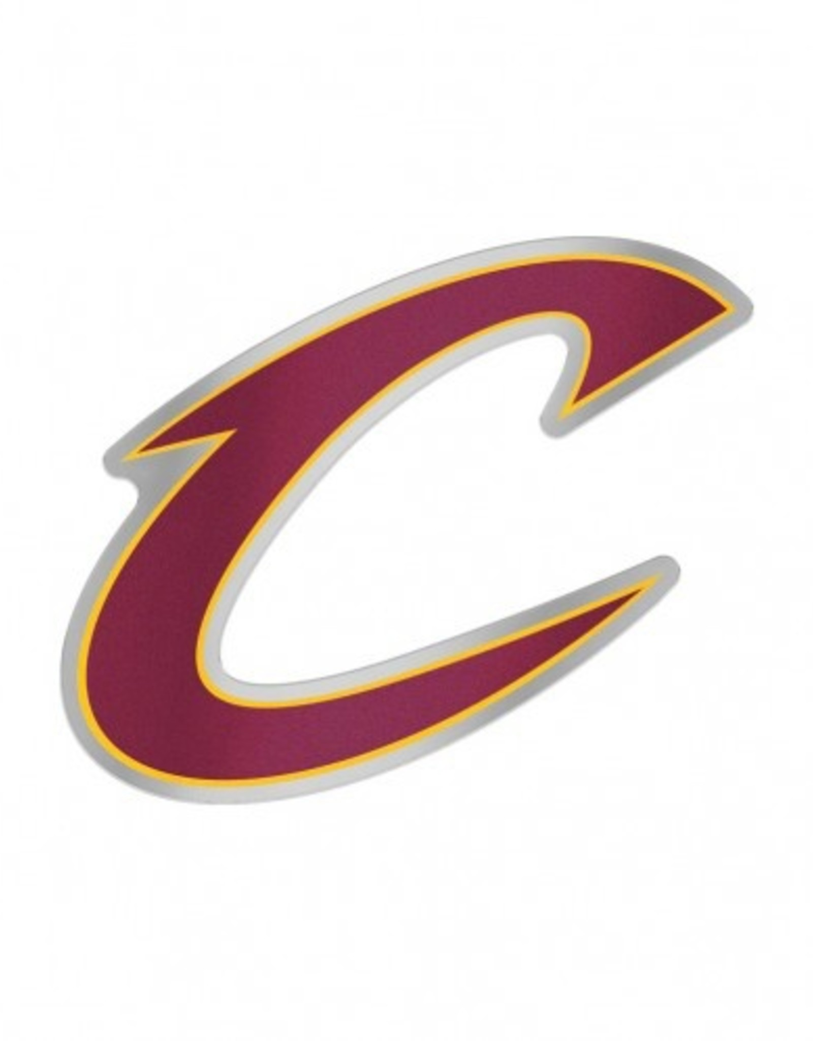 Cleveland Cavaliers Laser Cut Auto Badge Decal