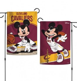 "WINCRAFT Cleveland Cavaliers Disney Mickey Mouse 12.5"" x 18"" Garden Flag"
