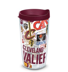 Cleveland Cavaliers 16oz Tervis All Over Print Tumbler