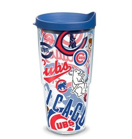 Chicago Cubs 24oz Tervis All Over Print Tumbler
