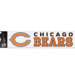 "WINCRAFT Chicago Bears 4""x17"" Perfect Cut Decals"