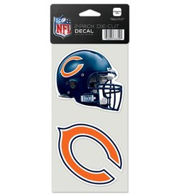 Chicago Bears Set of Two 4x4 Perfect Cut Decals