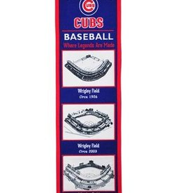 Chicago Cubs Stadium Heritage Banner