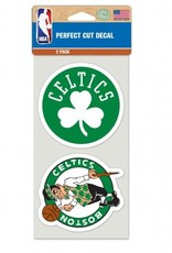 Boston Celtics Set of Two 4x4 Perfect Cut Decals