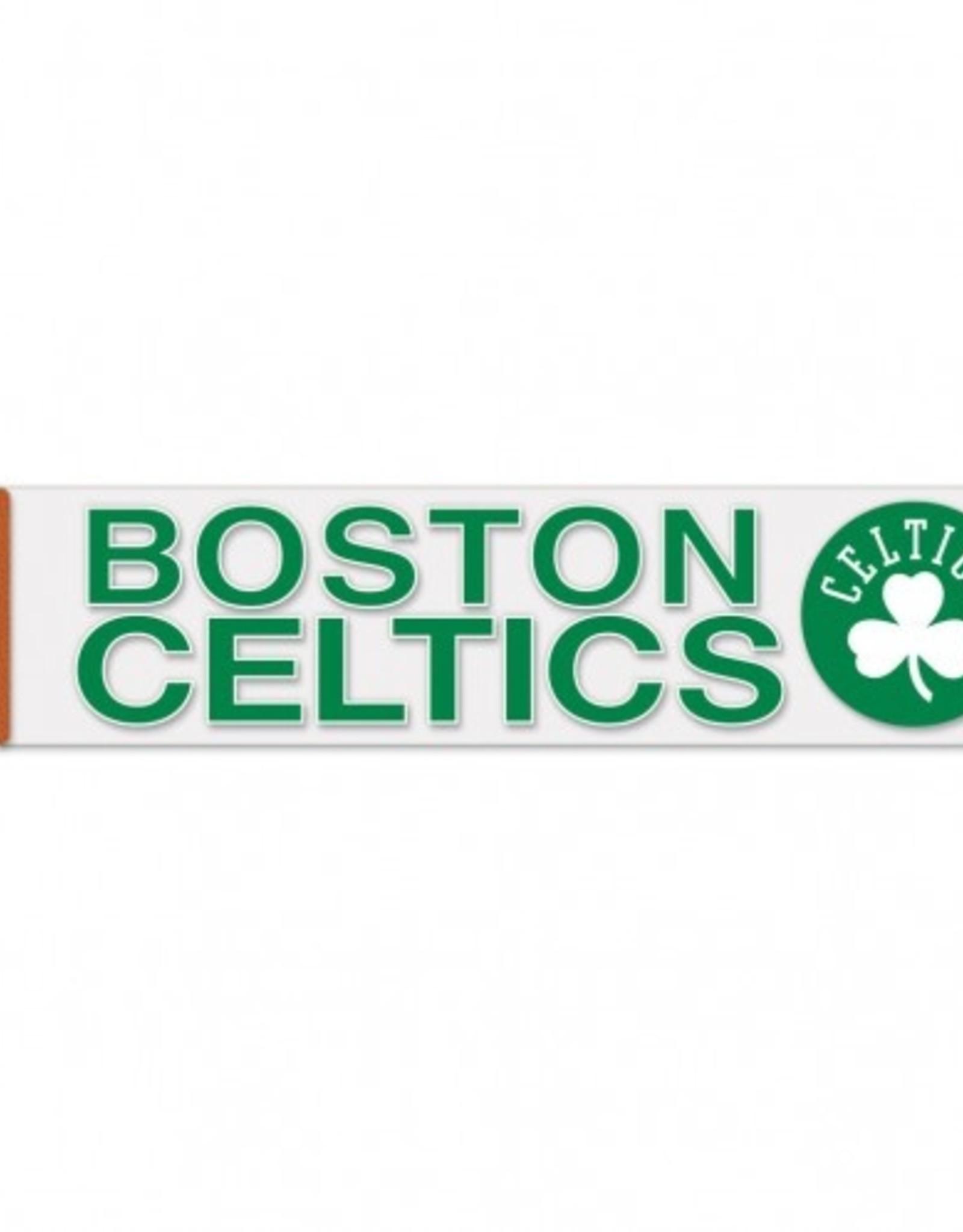 "WINCRAFT Boston Celtics 4""x17"" Perfect Cut Decals"