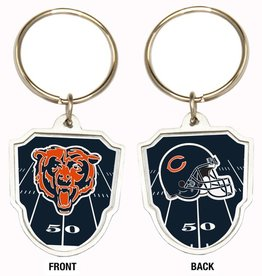 Chicago Bears Home Field Key Ring