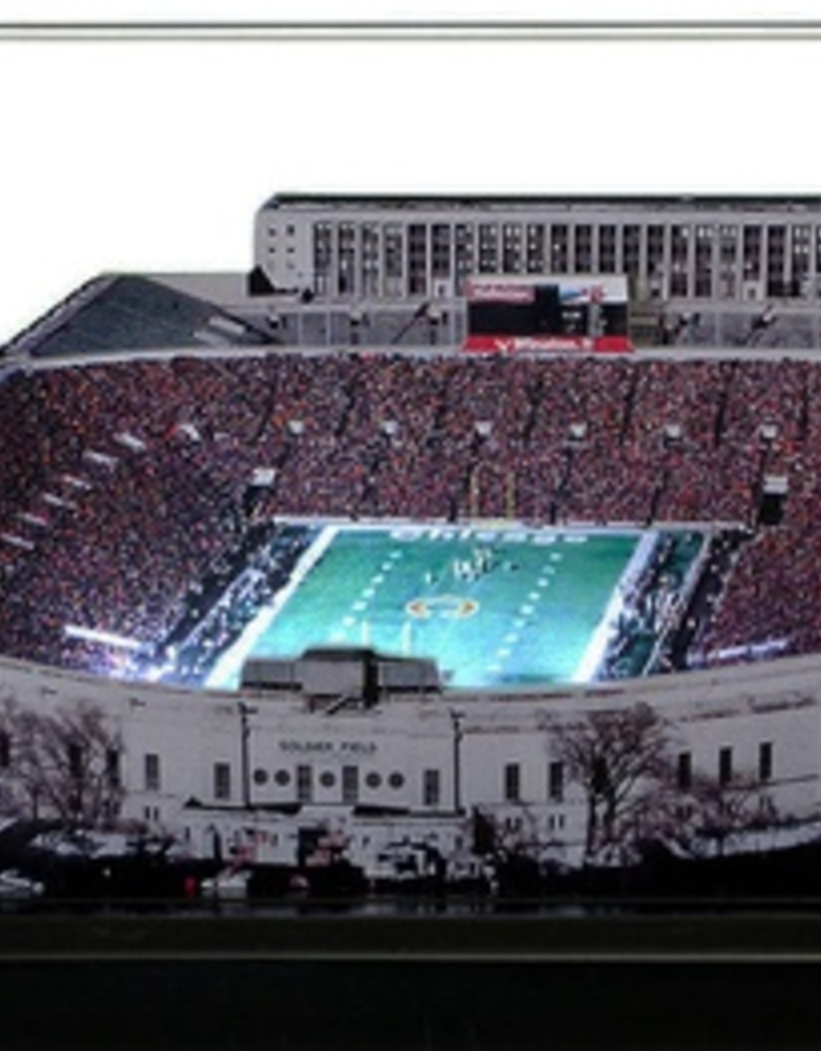 HOMEFIELDS Chicago Bears 13IN Lighted Replica Soldier Field (1971-2001)