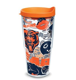Chicago Bears 24oz Tervis All Over Print Tumbler