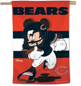"WINCRAFT Chicago Bears Disney Mickey Mouse 28"" x 40"" House Flag"