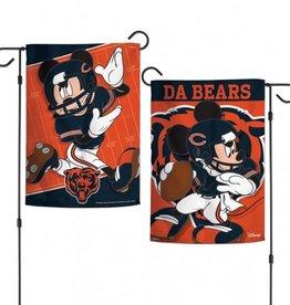 """WINCRAFT Chicago Bears Disney Mickey Mouse 12.5"""" x 18"""" Garden Flag"""