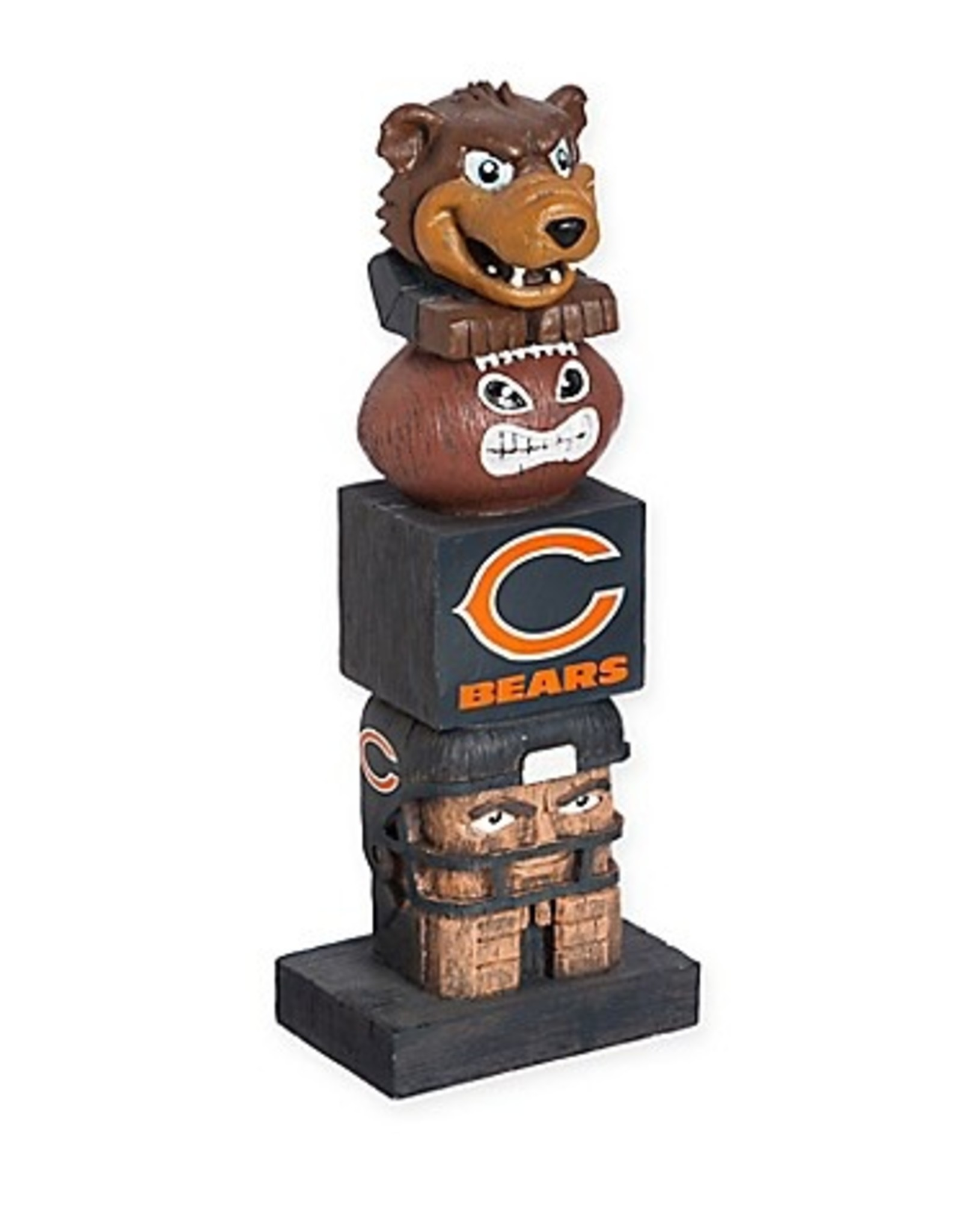 EVERGREEN Chicago Bears Tiki Totem