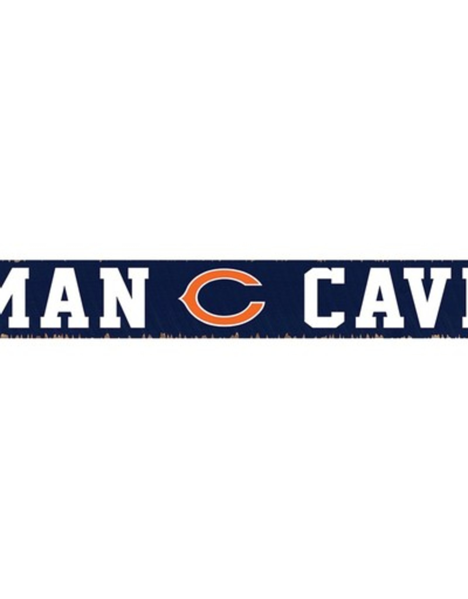 RUSTIC MARLIN Chicago Bears Rustic Man Cave Sign
