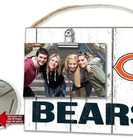 KINDRED HEARTS Chicago Bears Clip It Photo Frame