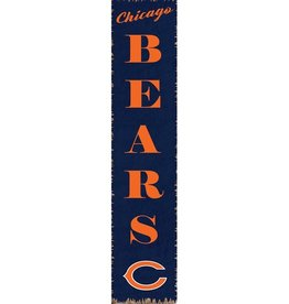 RUSTIC MARLIN Chicago Bears Vertical Rustic Sign