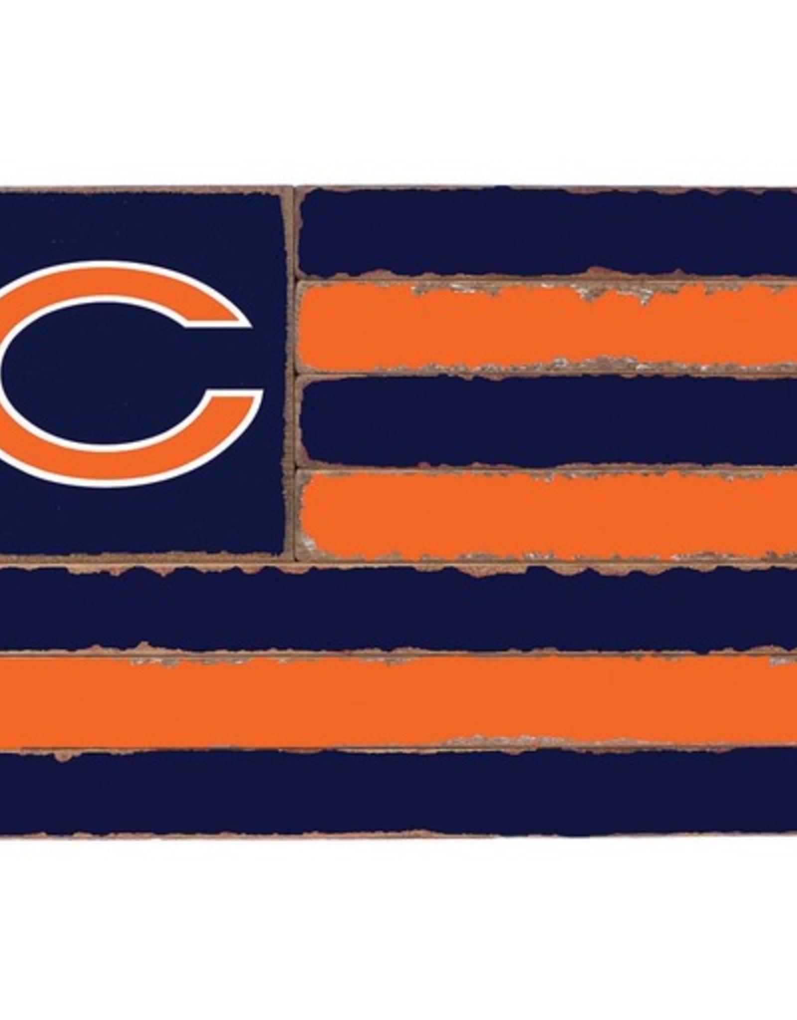 RUSTIC MARLIN Chicago Bears Rustic Team Flag