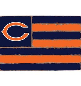 RUSTIC MARLIN Chicago Bears Rustic Team Flag