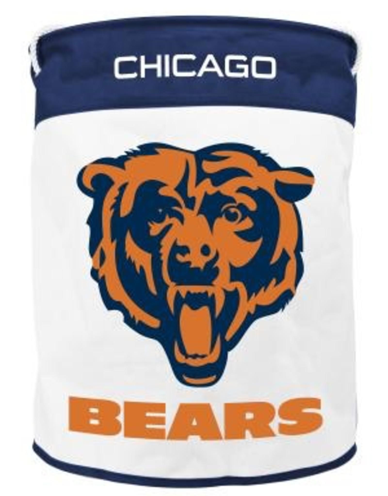 Chicago Bears Canvas Laundry Basket